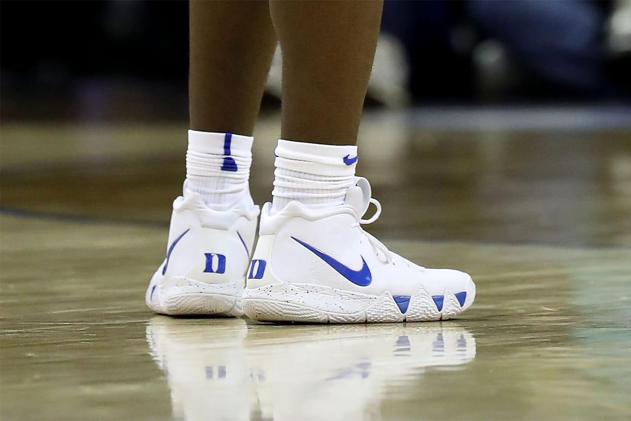 Zion Williamson Reinforced Nike Kyrie 4
