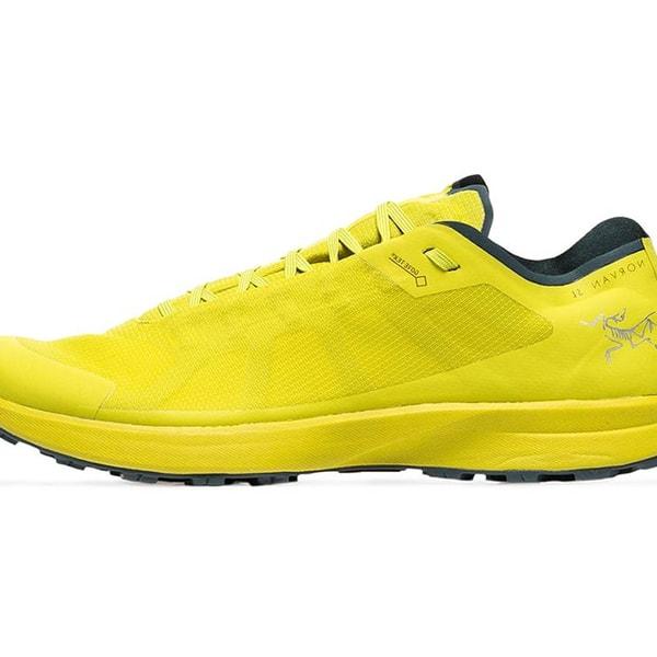 Arc'teryx Yellow Norvan SL GTX Gore Tex Low-Top Sneakers