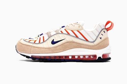 "Nike Air Max 98 ""Sail/Court Purple - Light Cream - Desert Ore"""