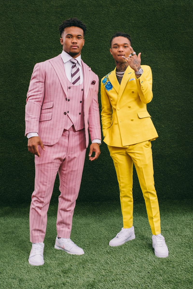 nfl draft red carpet style fashion football nashville arrivals Kyler Murray Devin Bush Christian Wilkins Josh Allen Marquise Brown recap