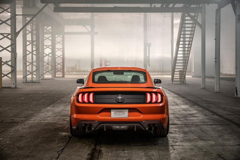 2020 Ford Mustang High Performance Turbo Edition EcoBoost Ford Focus RS Engine Orange four second car
