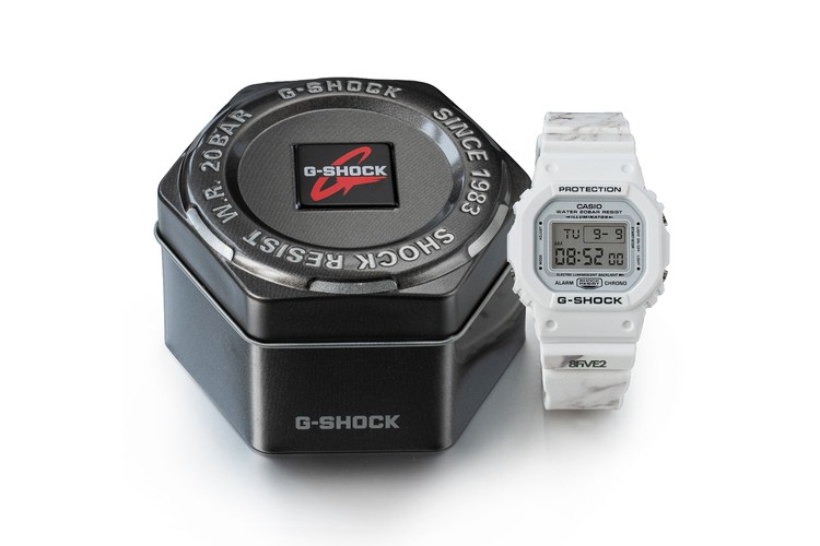 869a72fdd099 8FIVE2 Celebrates 20 Years With New G-Shock Watch