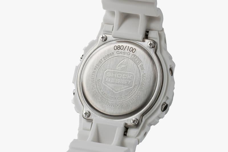 8five2 20 Year Anniversary G-Shock Release casio watches DW-5600