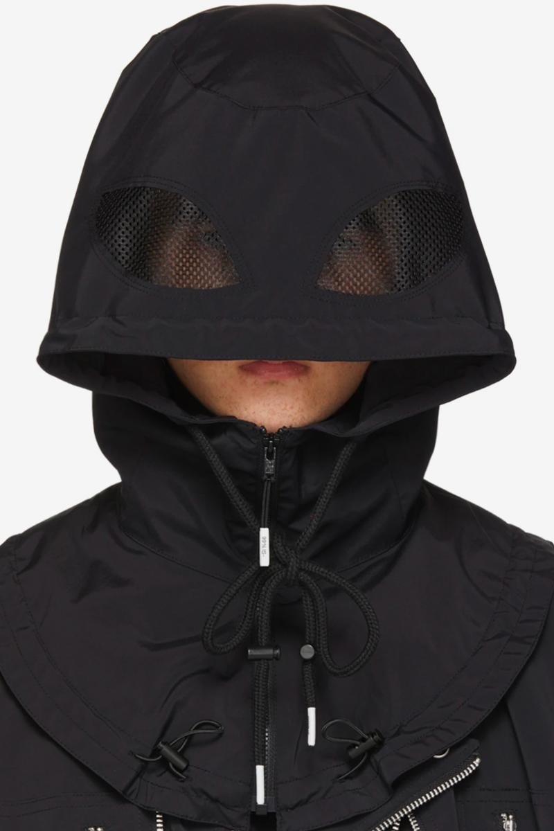 99%IS- Bat Hood Release Black Bajowoo Korean streetwear