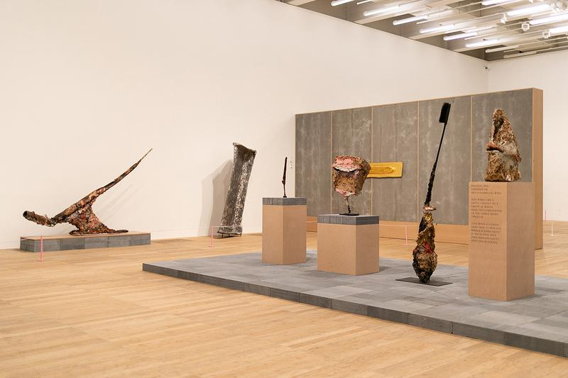 Franz West Tate Modern Exhibit Inside Look London Bankside SE1 9TG Art Exhibits Exhibition Exhibitions Open Now 20 February 2 June 2019