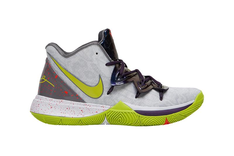 online store e356a ab22f nike kyrie 5 mamba mentality white cyber green sneaker release