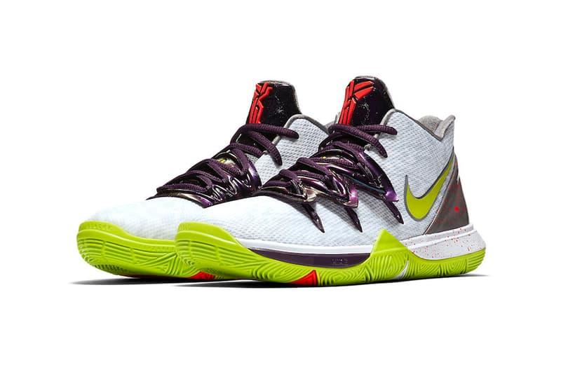 nike kyrie 5 mamba mentality white cyber green sneaker release