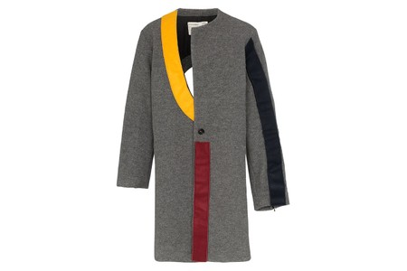 A-COLD-WALL* Drops Mondrian-Inspired Contrast Panel Wool Coat