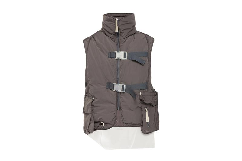 A-COLD-WALL* Hooded Technical Padded Gilet Release Info drop price stockist MATCHESFASHION.COM Samuel Ross