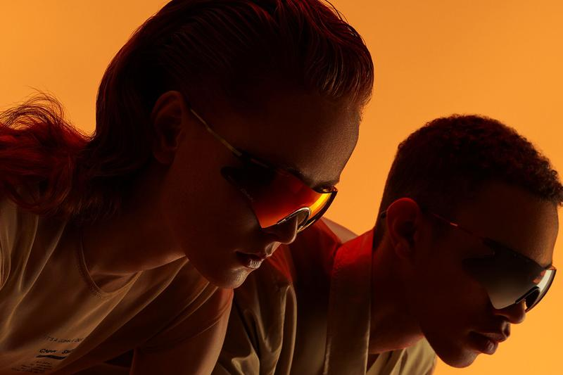 Ace & Tate x CMMN SWDN Spring Summer 2019 SS19 Collaboration Capsule Collection Eyewear Glasses Coming of Age urban subcultures post-club haze 90s sportswear influences road cycling inspiration Greg LeMond Lance Armstrong Le Boss Tour de France retro futuristic