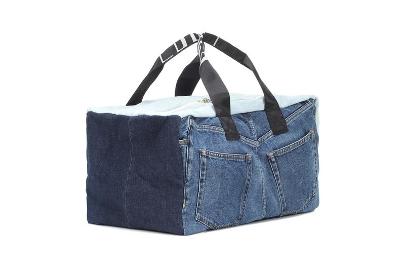acne studios bla konst denim backpack tote bag carryall duffle spring summer 2019 release