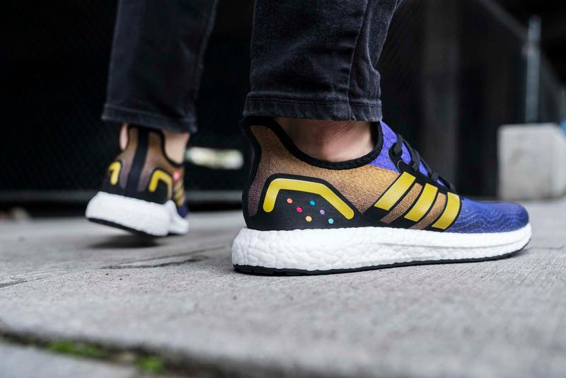 Captain Marvel & Thanos adidas AM4 for Footlocker