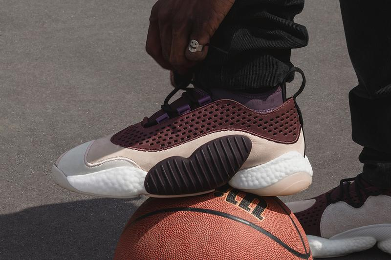 A Ma Maniere adidas Consortium Crazy BYW Low Release Details Closer Look Official First Buy Cop Purchase Originals
