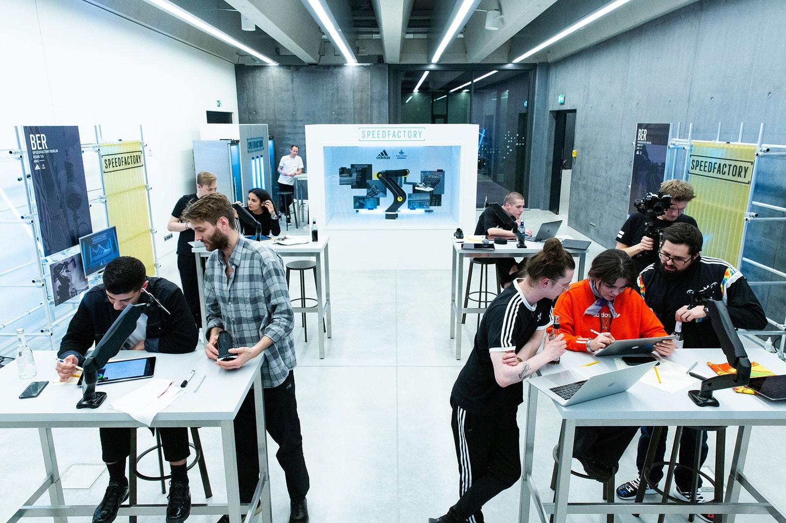 adidas SPEEDFACTORY Foot Locker City Designs Europe