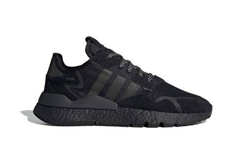 "adidas Drenches Nite Jogger in ""Triple Black"" Tones"