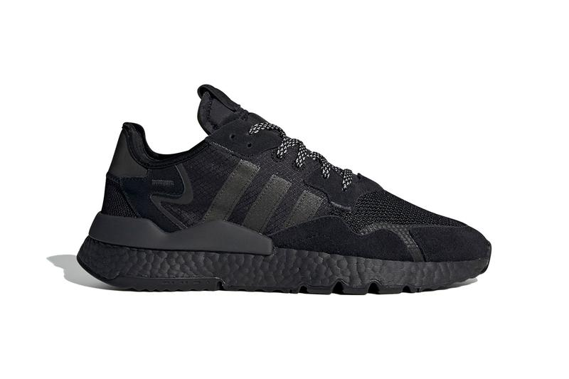 "adidas Originals Nite Jogger in ""Triple Black"" colorway release date info drop buy price retail carbon 3m"