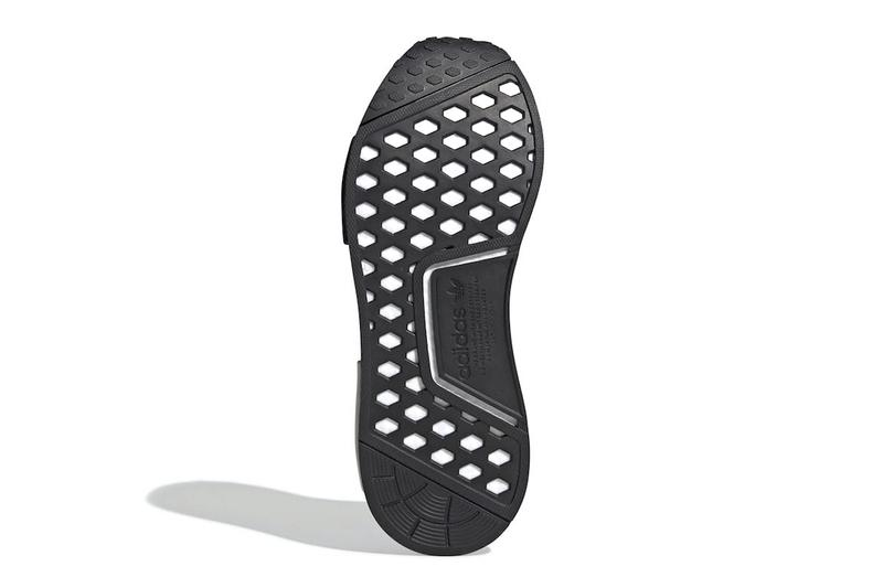 acb61168216c adidas  NMD CS1 Gets Dressed in Bold Branding black white core black cloud  white