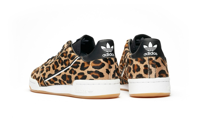 32660504534 adidas Originals Continental 80 Leopard Pony Hair | HYPEBEAST