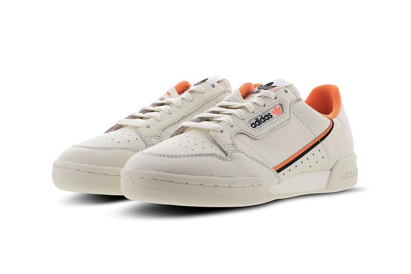 adidas Originals Continental 80 Beige Orange Black Footlocker EU Exclusive Leather Vintage OG Sneaker Release Information Drop Date Footwear SS19 Spring Summer 2019