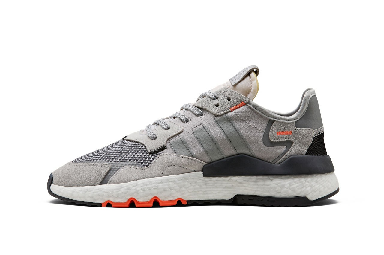 adidas Originals Nite Jogger Grey and