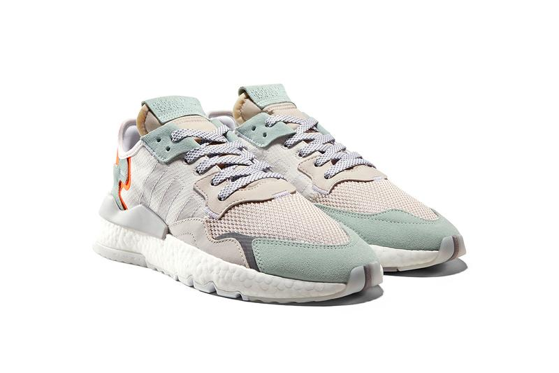 adidas Originals Nite Jogger Spring Summer 2019 SS19 Colorways New Colors Nylon Ripstop Suede Hi Vis Orange Clear Blue Teal Sea Green Grey White Release Information Price Details Drop Date