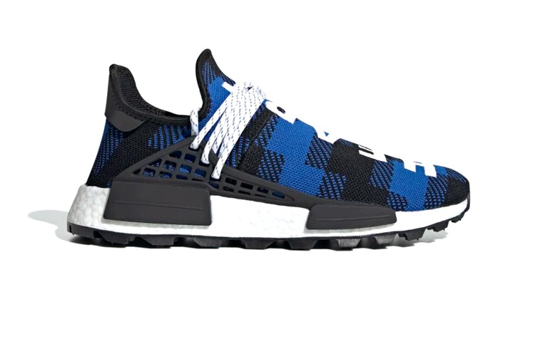 bd3970794 adidas and Billionaire Boys Club Unveil Latest NMD Hu in Plaid. Footwear