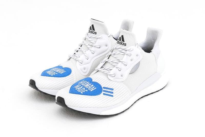 9ba078691ec1a adidas Pharrell Human Made Solar Hu Glide Info Pharrell Williams Nigo adidas