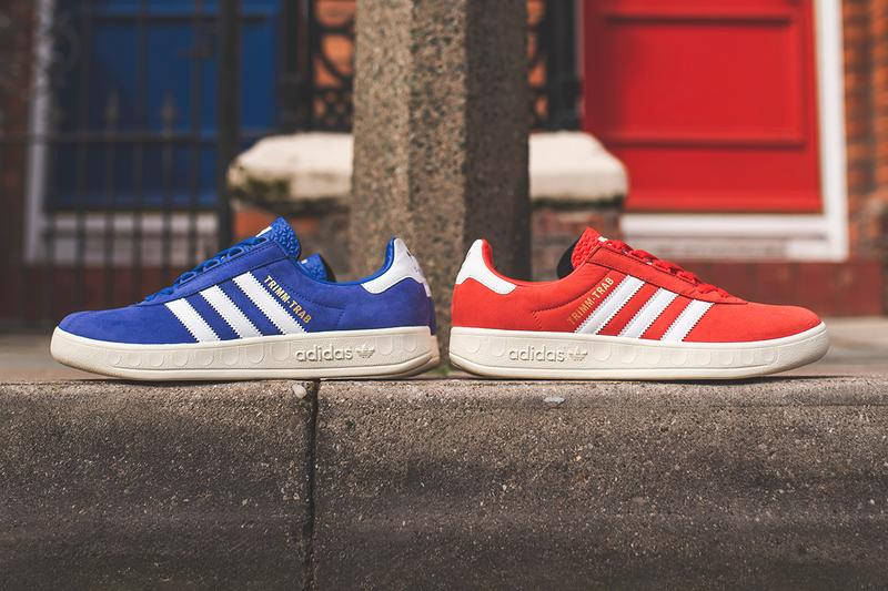 7eda04324 adidas Trimm Trab Red Blue Sneaker Info Shoes Trainers Kicks Footwear Cop  Purchase Buy First