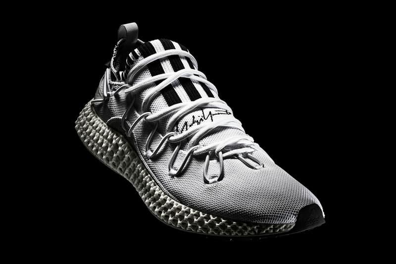 adidas Y-3 RUNNER 4D II Technology Continental Sole Sneaker Release Information Drop Date Bone White Midsole White Knit Upper Yohji Yamamoto 3 Stripes
