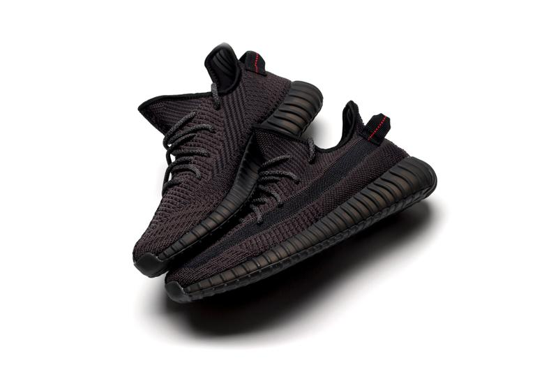 All-Black adidas YEEZY Boost 350 V2 First Look kanye west three stripes release date june