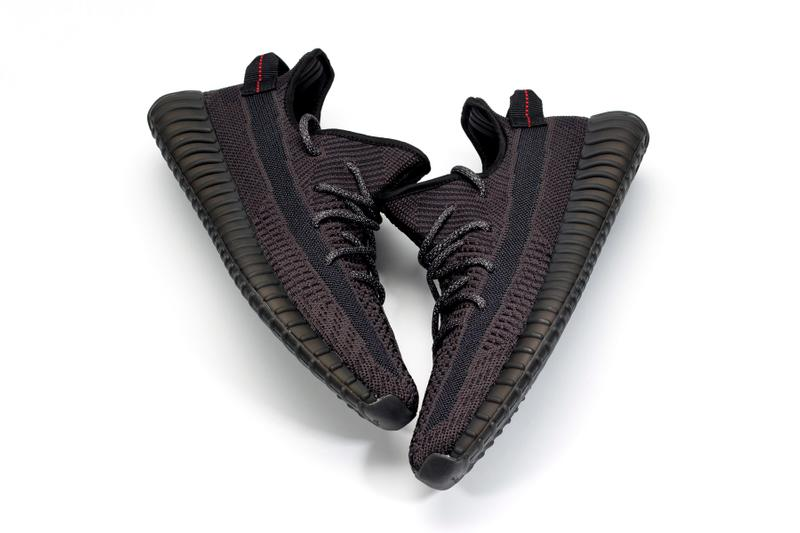 All-Black adidas YEEZY Boost 350 V2 First Look kanye west three stripes  release date