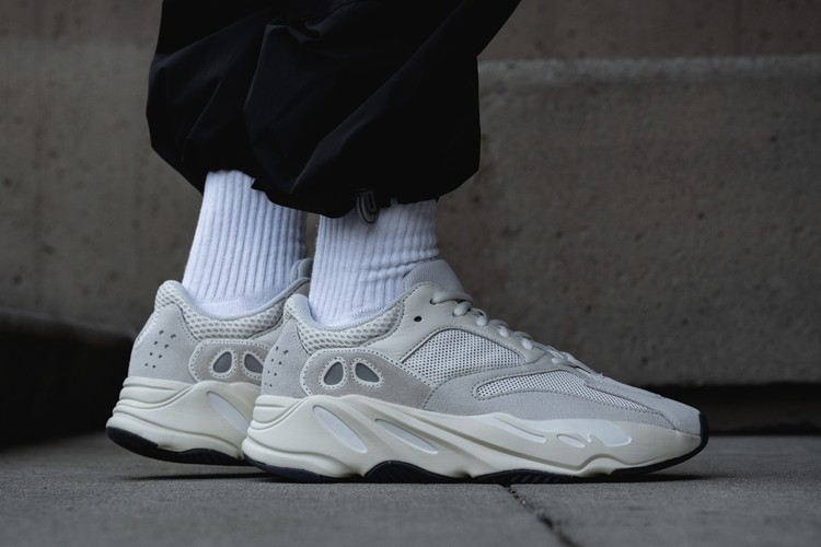 wholesale dealer 54aa8 6a00b Take an On-Foot Look at the adidas YEEZY BOOST 700