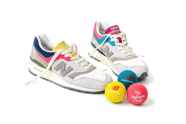 81022362b7eb3 Aimé Leon Dore Debuts Colorful New Balance 997 Collaboration · Footwear