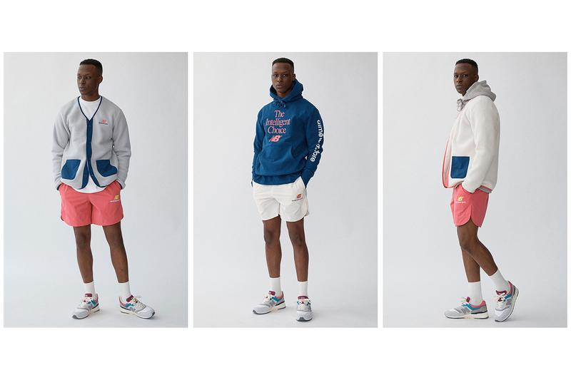Aimé Leon Dore x New Balance 997 Capsule collaboration lookbook shorts tee shirt intelligent choice release date info buy april 12 2019