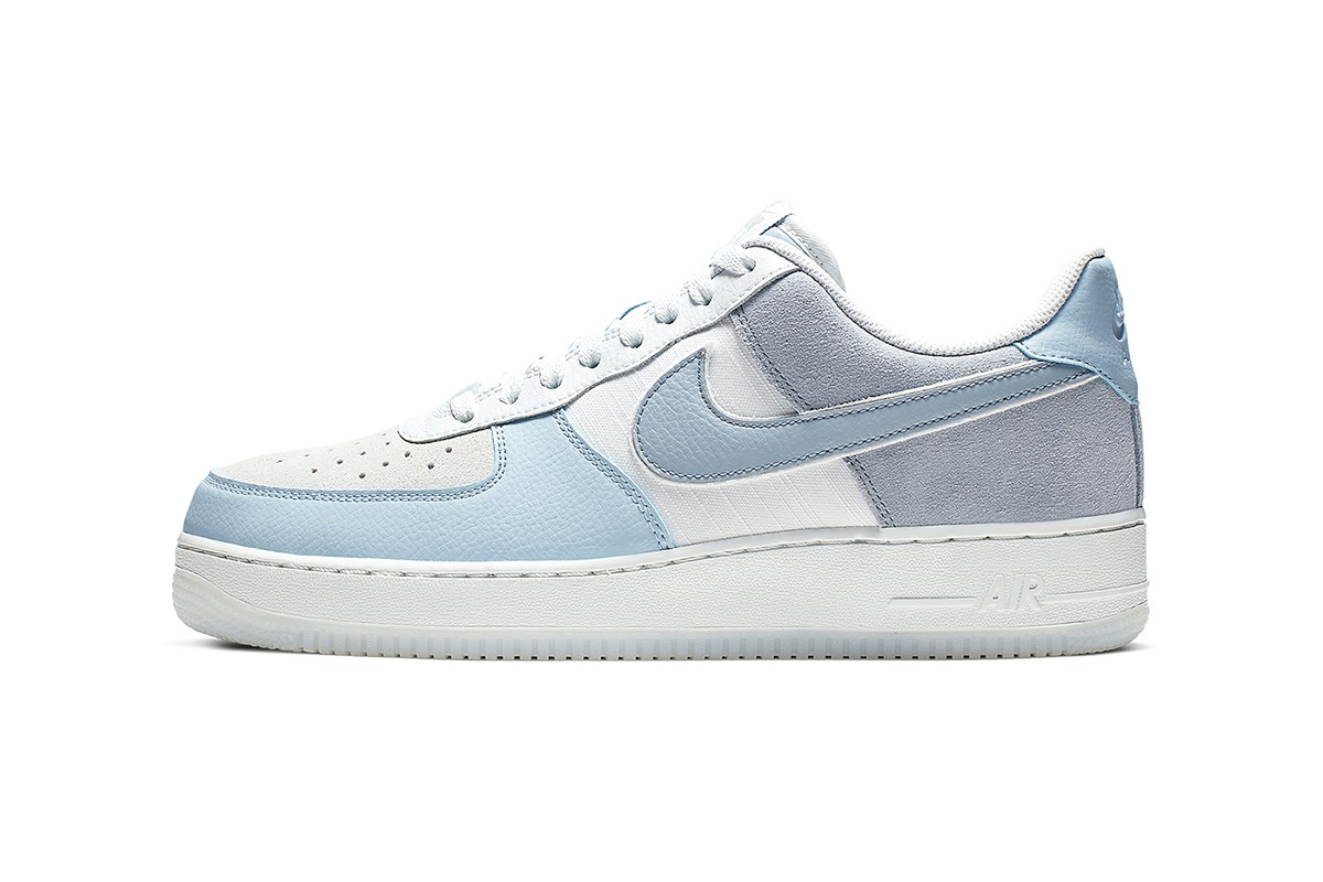 nike air force 1 white and blue