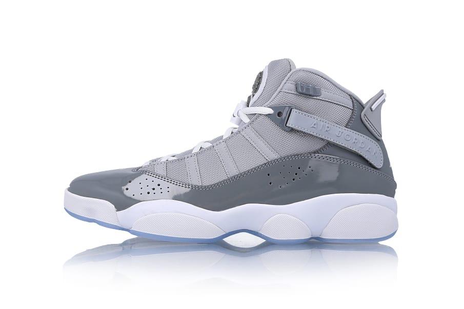 jordan 6 gray and white