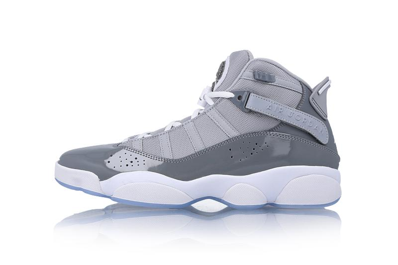 Air Jordan 6 Rings 'Cool Grey' Sneaker Info Release Details Sneakers Trainers Kicks Footwear Cop Purchase Buy AJ 6 7 8 11 12 13 14 Combination Hybrid