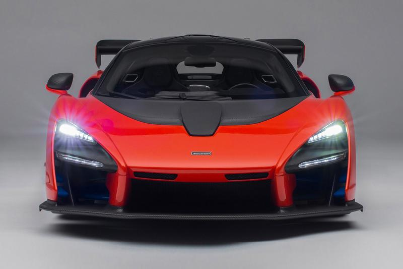 Amalgam McLaren Senna 1:8 Model Release Info car motorsport racing speed
