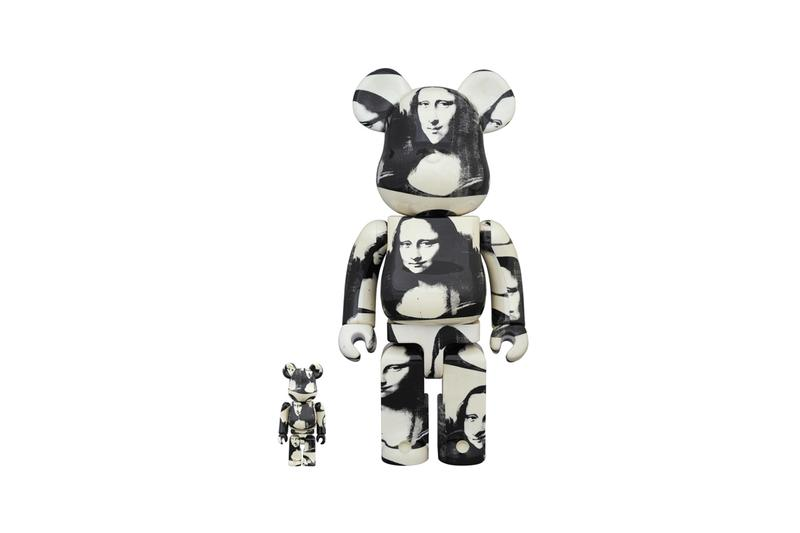 andy warhol double mona lisa medicom toy bearbrick figure collectible edition artworks