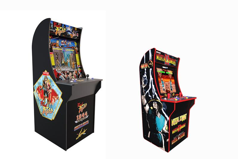 Arcade1UP Tastemakers LLC Countercades 4-ft gaming machine personal device retro titles old school Golden Tee Mortal Kombat Space Invaders Karate Champ