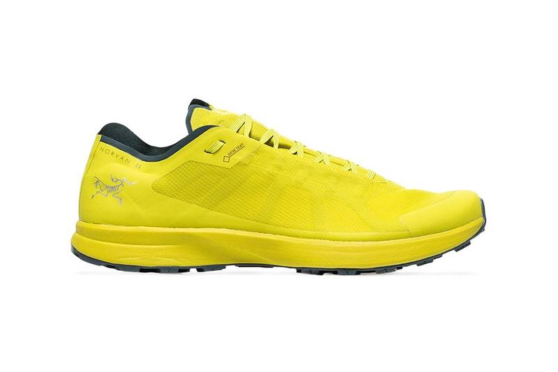 arcteryx arc teryx yellow norvan sl gtx gore tex sneakers shoes trainers