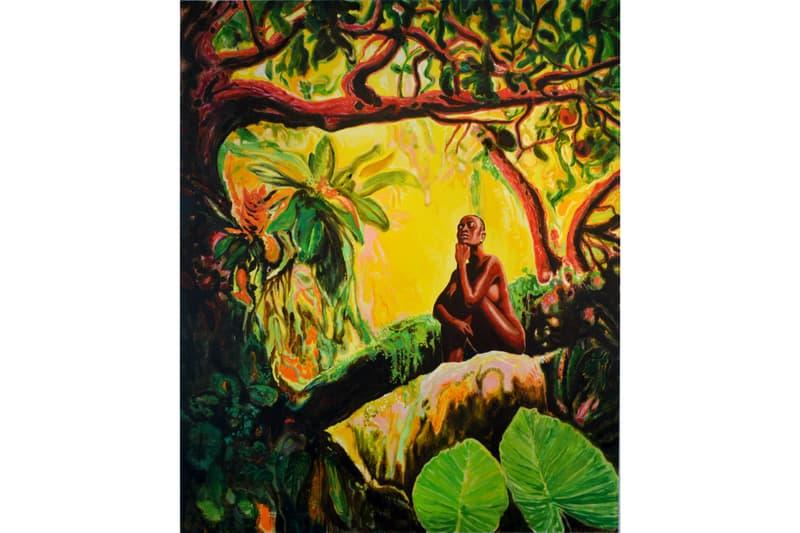 faction art projects new york city armando marino la selva oscura exhibition exhibit cuban art cuba artist oil paintings gallery 8 harlem