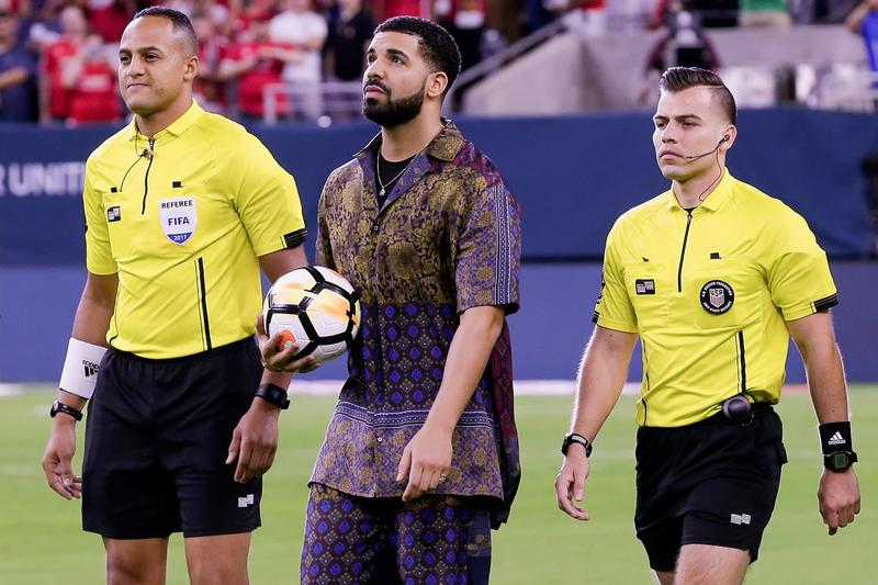 "A.S. Roma Bans Players from Taking Photos with Drake After PSG Hit by ""Drake Curse"""