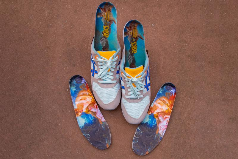 asics gel saga vivienne westwood art mythical sneakers shoes collaboration Renaissance art Japan