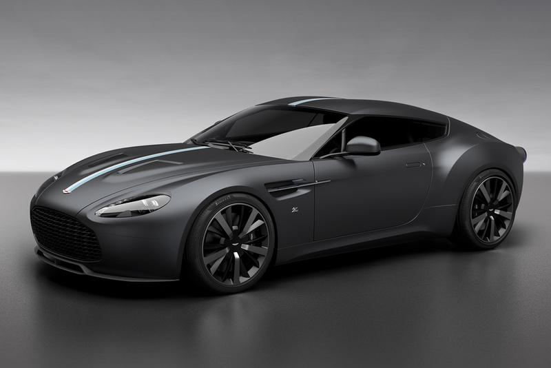 Aston Martin Vantage V12 Zagato Heritage TWINS by R Reforged af racing coupe roadster convertible 100 years anniverary
