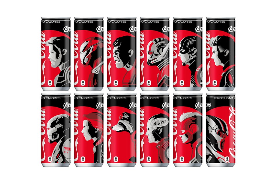 Coca-Cola Set to Launch Limited-Edition 'Avengers: Endgame' Cans