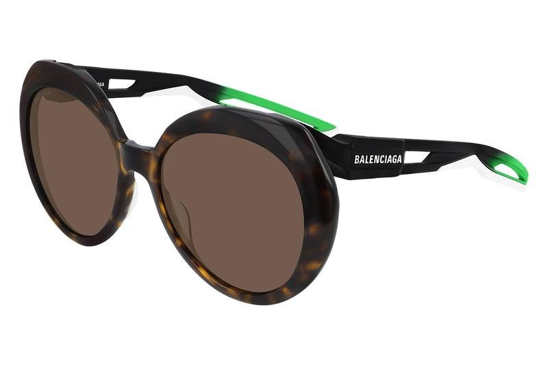 Balenciaga Exclusive Hybrid Colorway Hong Kong Fashion Sunglasses Summer Accessories Puyi Optical Collaboration Luxury Fashion