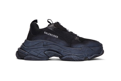 Balenciaga's Triple S Surfaces With Faux Distressing