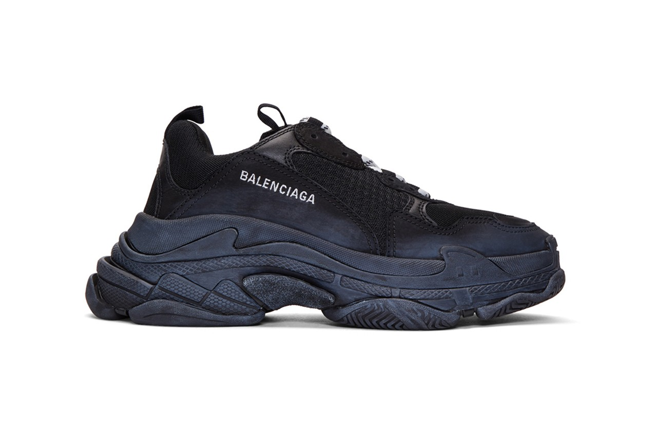 Don t Miss Fall 2019 Sales on Balenciaga Triple S Clear Sole