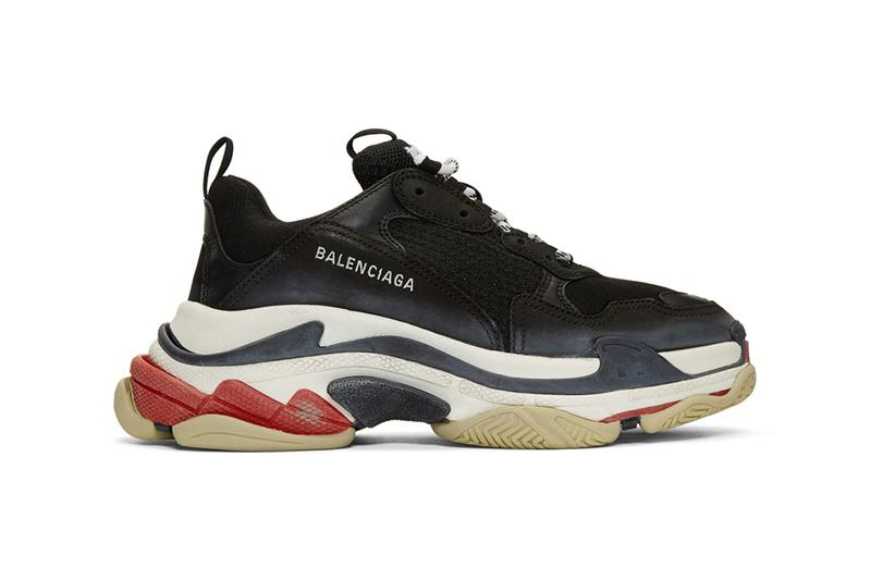 Balenciaga Triple S Smudged Colorways Info release date drop ss19 spring summer 2019 demna gvasalia black triple grey red beige